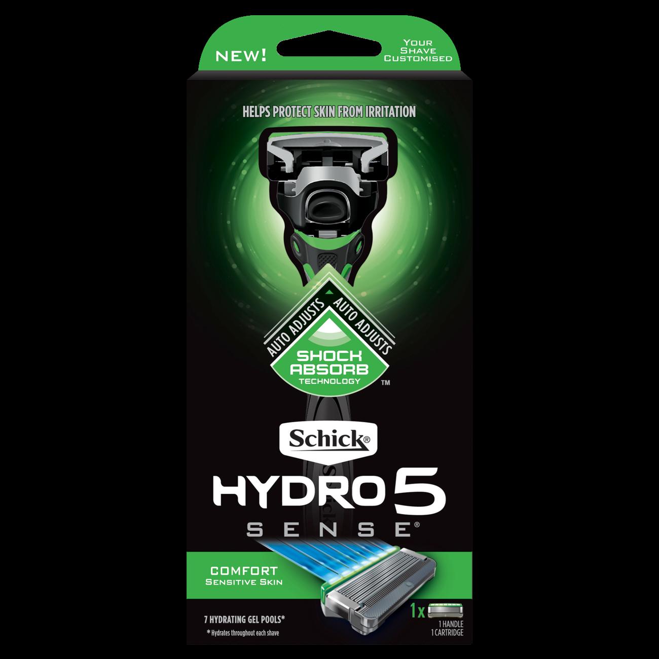 Hydro 5 Sense™  Comfort Razor