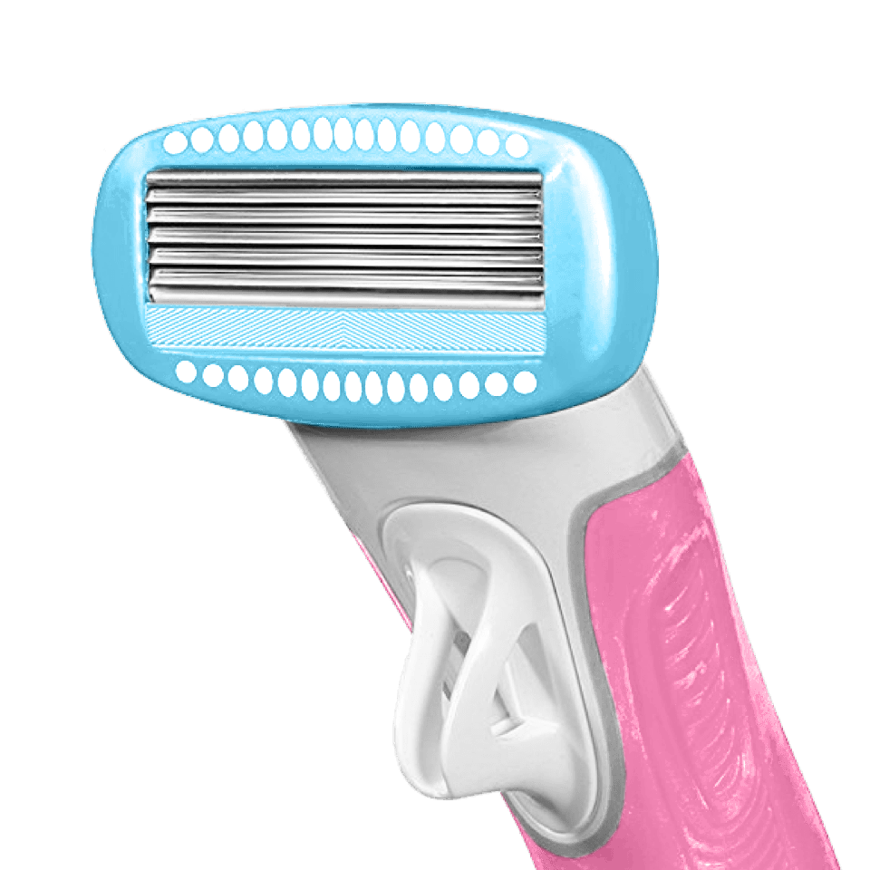 5-Curve Sensing Blades for an incredibly close shave